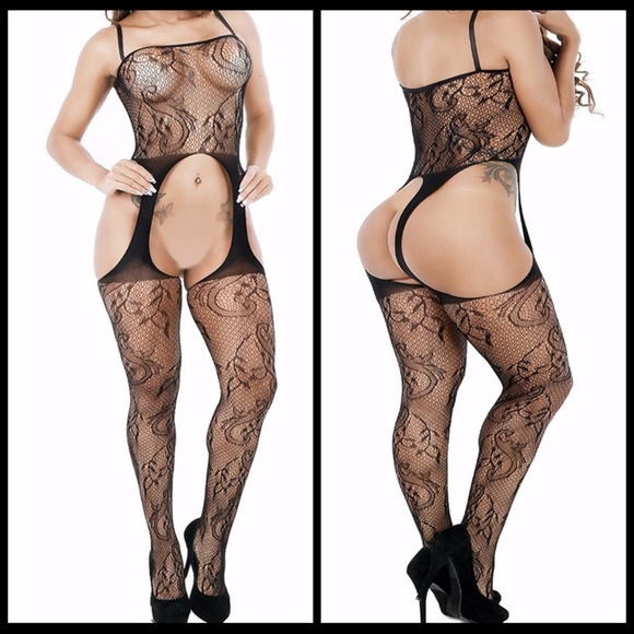 Miss Babydoll Other - ❤️NEW Sexy Lace Bodystocking Lingerie #L026